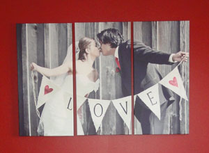 love triptych example red