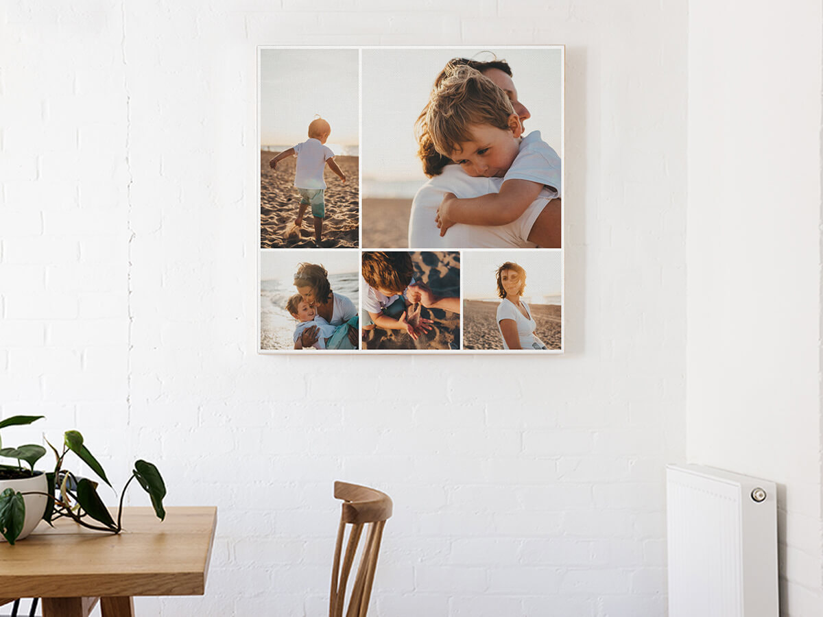A photo collage of your most precious memories