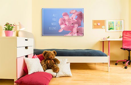 Kids quote wall art