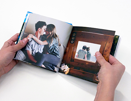 We use high quality velvet soft paper to print your photos on.