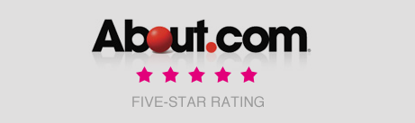 About.com Five-star rating